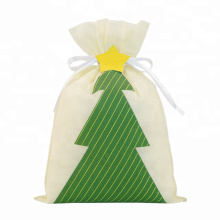 Christmas Tree Gift Packaging Drawstring Bags