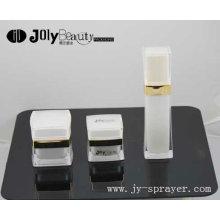 2016 latest luxury square acrylic cosmetic jar