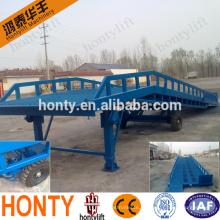Самая низкая скидка 10 тонн переносной контейнер разгрузочный мост мобильный пандус с CE