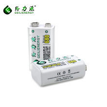 Cheap best prices high capacity 680mah lithium batteries 9v rechargeable battery deep cycle battery