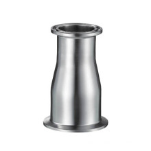 Satin Stainless Steel Sanitary Clamped Concentric Reducer