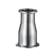 Satin aço inoxidável Sanitary Clamped concêntrico Redutor