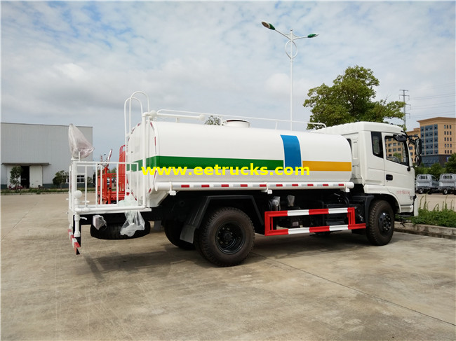 190HP 11T Water Tank Trucks