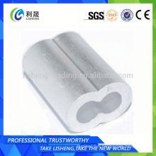 Corde en fil d'aluminium 8 Ferrules en forme