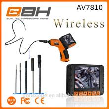 AV7810 caméra sans fil d'endoscope d'endoscope d'inspection infrarouge de tuyau de 3,5 pouces