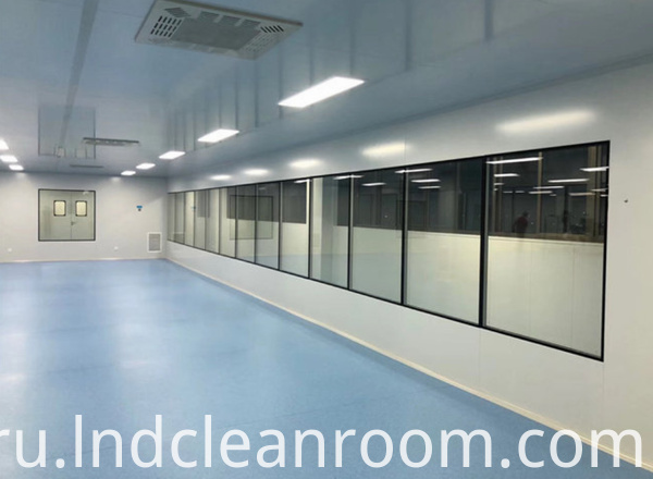 Clean room design of pharmaceutical factory