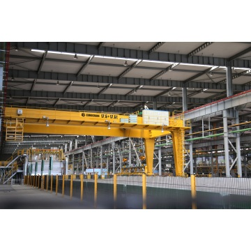 17,5 + 17,5t Semi-Gantry Crane