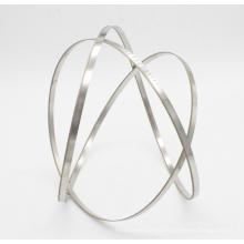 Segmentos de diamante e lâmina de serra de fita de arame contínuo