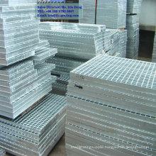 galvanized steel serrated grating