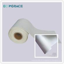 ECOGRACE hornos de horno PPS tela de filtro de polvo bolsa de tela