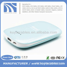 Conservação de energia mobile phone charger power bank 5000mAh