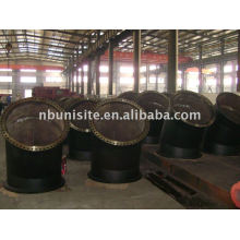 welded pipe bend with or without flanges(USB-1-007)