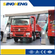 Camion à benne basculante de la Chine HOWO 8X4 31 tonnes avec le corps fort