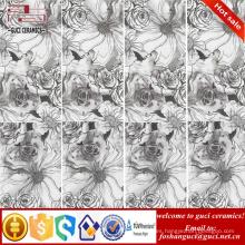 superficie de la flor Fondo de la pared azulejo delgado azulejos de porcelana fina acristalada