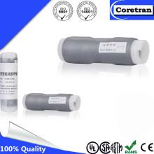 Noir / gris Résistance chimique Tube rétractable à froid pour câble coaxial