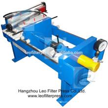 Leo Filterpresse Labortest Kleinplattenfilterpresse