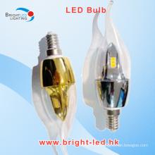 E14 5W SMD LED Bulb Luz Quente Branco