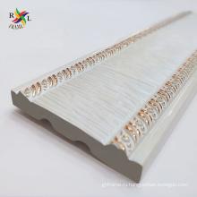 Популярная белая декоративная полистирольная лепнина для стен