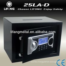 Deposit safe locker for India market with LCD display
