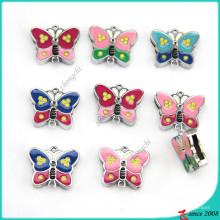 Novo design 8mm borboleta encantos jóias (sc16040957)