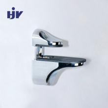 Piezas de hardware de metal personalizadas Soporte de estante de vidrio - Aleación de zinc