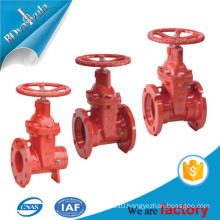ANSI AWWA C550 UL FM approved fire protection ductile iron gate valve
