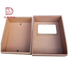 Gute Qualität Fabriklieferant recycelbar benutzerdefinierte Wellpappe Box Großhandel