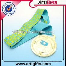 Silk screen printing medal ribbon lanyard