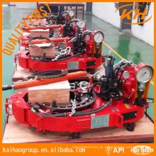 API TQ340-35Y Hidráulica Casing Power Tong Para Perfuração de Poço