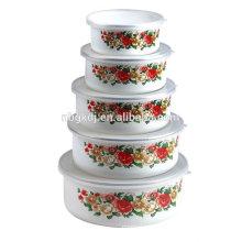 enamelware japanese noodle bowl for noodle warmer