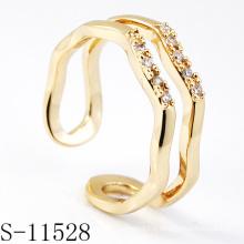 Bague en bijoux fantaisie en argent sterling 925 (S-11528.)