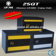 Colorful digital electronic small mini safe deposit box for home