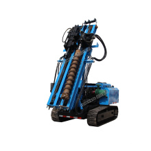 HW brand Mini post ground screw driver piling machine for solar project installation