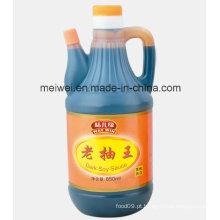 850ml de molho de soja escuro com alta qualidade