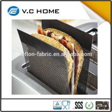 2016 neues Produkt Küche Teflon Lebensmittel Grade Zertifikat non stick einfach zu verwenden Teflon Sandwich Toaster Tasche