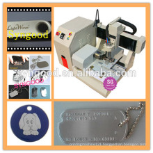Syngood Mini CNC Router SG4040/SG3040-special for custom shape dog tag