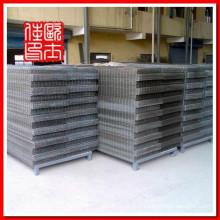 Panneaux en treillis métallique soudés en acier inoxydable 304 et panneaux de béton soudés par fil et panneaux en treillis en acier galvanisé