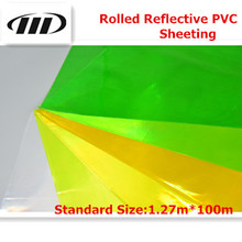 Offer Rolled Reflective PVC Sheeting (Seamless)