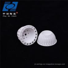 Tenedor de lámpara de cerámica blanco venta de fábrica