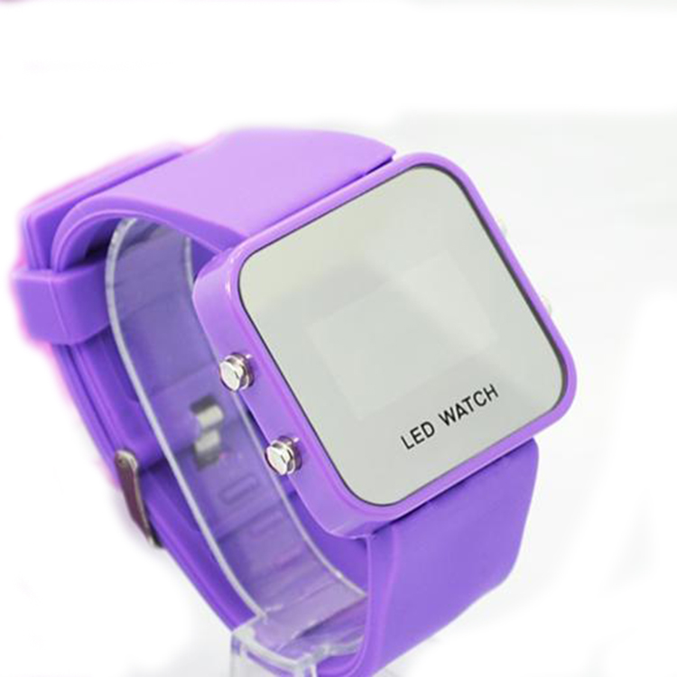 The brand name digital watches