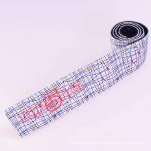 Umweltfreundliches weißes Polyester / Nylon / Baumwollband elastisch mit Befestigungselementen