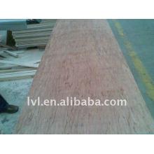 Muebles utilizados panel de madera contrachapada de teca