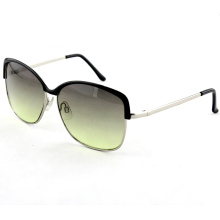 Nifty Cute Metal Fashion Sunglasses with Gradient Lens (14244)