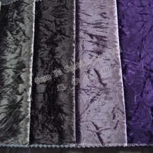 Обивочная ткань диван мягкий бархат с вязаной минусовки