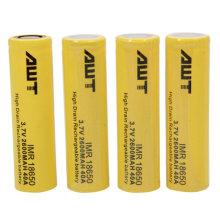 Alle 18650 2600mAh 40A 3.7V Lithium Li Ion Rechargeble Battery