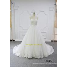 Princess A Line Elegant Lace Design Bridal Dress Wedding Gown