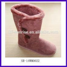 SR-14WM0022 2014 sexy unique design Winter fashion women snow boots colorful snow boots lightweight snow boots