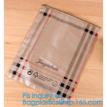 Pencil Zipper Packing Bag Clear PVC Pencil Packing Bag Slider, PVC Slider Zipper Bag For Make Up For Holographic Laser