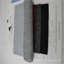 Double-Face-Alpaka-Plüsch-Kleidung Alpaka Poncho-Stoffe in China hergestellt