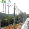Galvanized BRC Roll Top Mesh Panel pagar